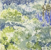 Impressions-of-lilies- greetings cards- Janet Dickson, printmaker